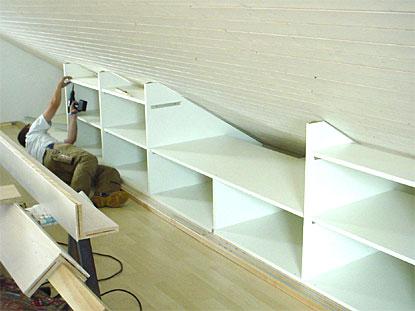 Möbel Für Dachschrä schreinerei kramer referenzen ausbau